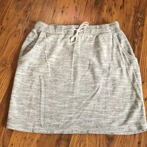 Sonoma XS Gray terry cloth pencil skirt